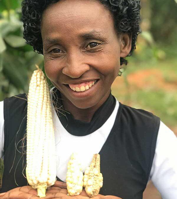 Agent of change in Rwanda